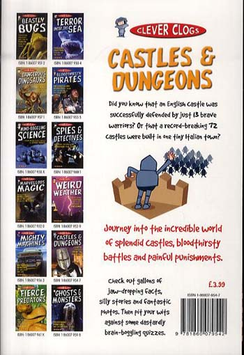 Clever Clogs: Castles & Dungeons - Clever Clogs S. No. 8 (Paperback)