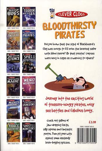 Clever Clogs: Bloodthirsty Pirates - Clever Clogs S. No. 6 (Paperback)
