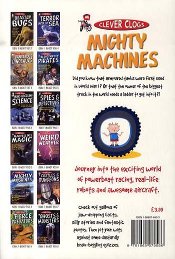 Clever Clogs: Mighty Machines - Clever Clogs S. No. 7 (Paperback)