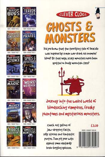 Clever Clogs: Ghosts & Monsters - Clever Clogs S. No. 12 (Paperback)