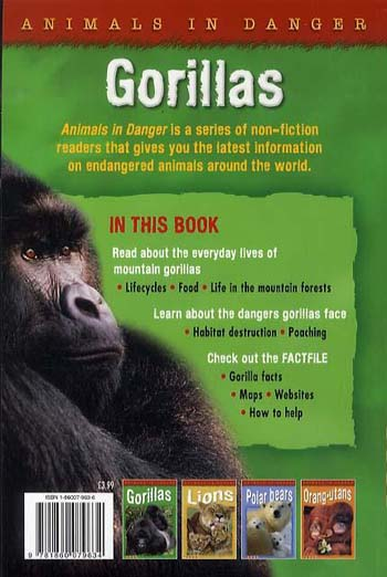 Animals in Danger: Gorillas - Animals in Danger No. 1 (Paperback)