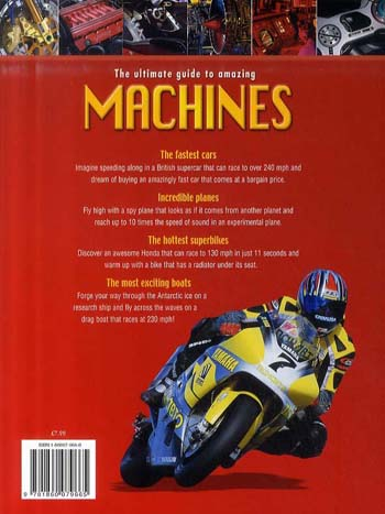 The Ultimate Book of Machines (Paperback)