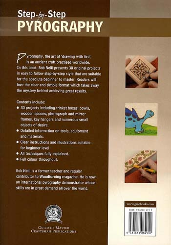 Step-by-step Pyrography (Paperback)