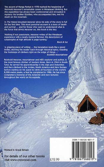 The Naked Mountain (Paperback)