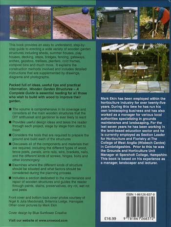 Wooden Garden Structures - a Complete Guide (Hardback)
