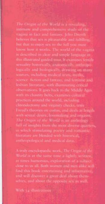 The Origin of the World: a History of the Vagina (Hardback)
