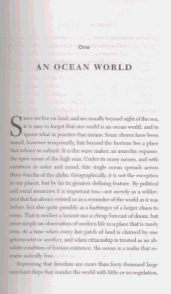 The Outlaw Sea: Chaos and Crime on the World's Oceans (Paperback)