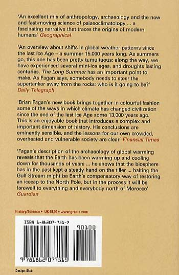 The Long Summer: How Climate Changed Civilization (Paperback)
