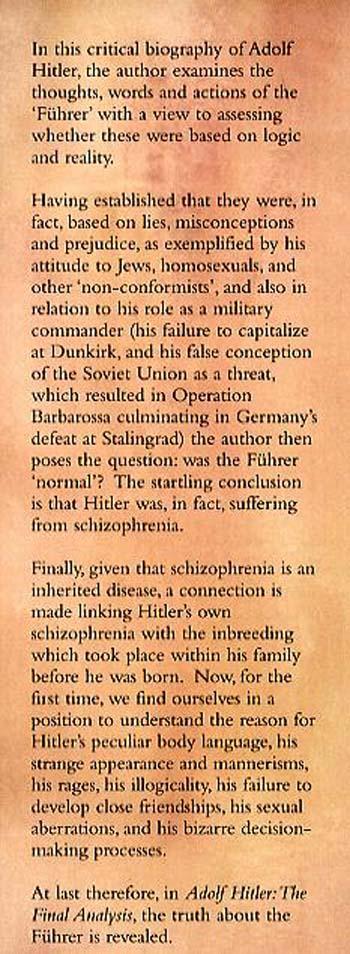Adolf Hitler (Hardback)