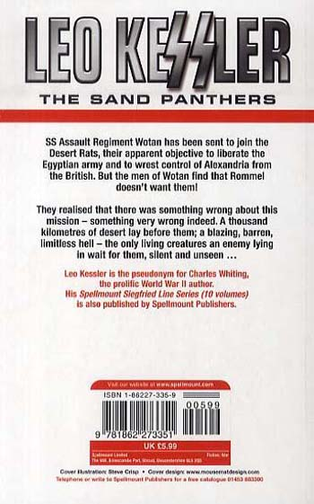 Sand Panthers - Dogs of War Series v. 8 (Paperback)