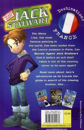 Jack Stalwart: The Mystery of the Mona Lisa: France: Book 3 - Jack Stalwart (Paperback)