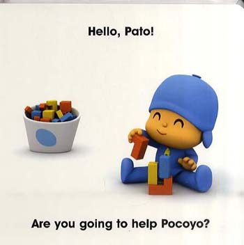 Pocoyo Discovers Colours: A First Book of Colours (Hardback)