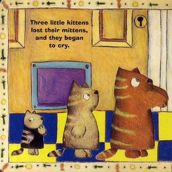 Three Little Kittens (Board book)