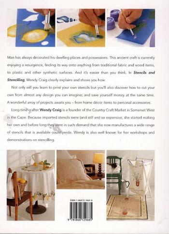 Stencils and Stencilling (Paperback)