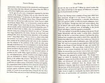 Yaacov Herzog: A Biography (Hardback)