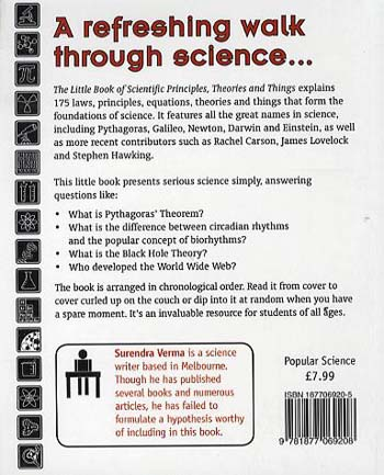 The Little Book of Scientific Principles, Theories and Things (Paperback)