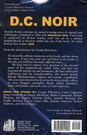 D.c. Noir - Akashic Noir (Paperback)