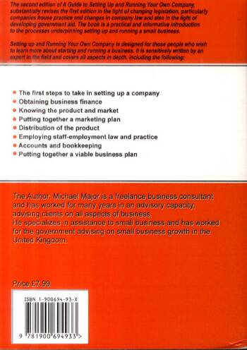 Guide to Setting Up and Running Your Own Company - Easyway Guides S. (Paperback)