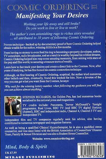 Cosmic Ordering Guide: Where Dreams Can Become Reality (Paperback)