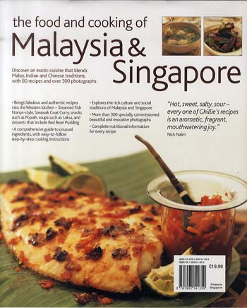 Food and Cooking of Malaysia and Singapore (Hardback)
