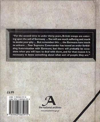 Germany 1944: A British Soldier's Pocketbook (Hardback)