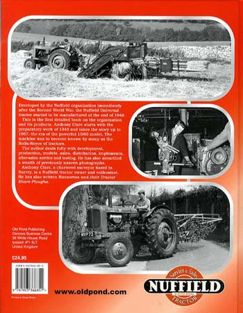 The Nuffield Tractor Story: v. 1 (Hardback)