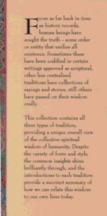 A World Religions Bible (Hardback)