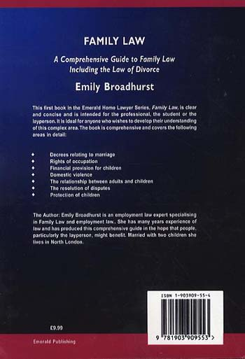 Family Law - Emerald Home Lawyer Series (Paperback)