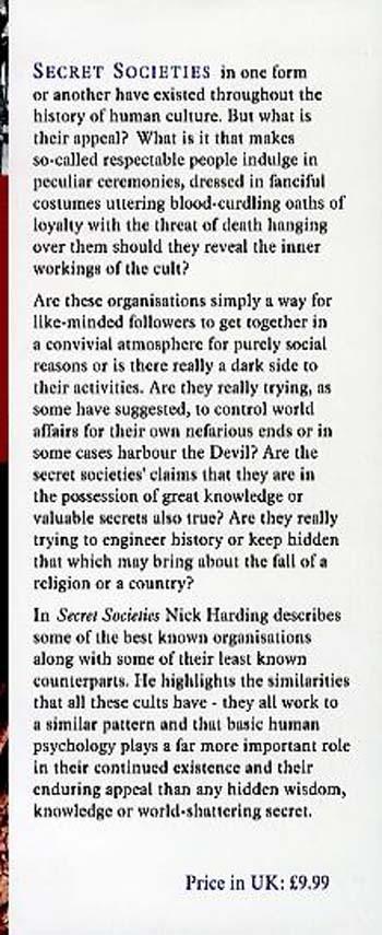 Secret Societies (Hardback)