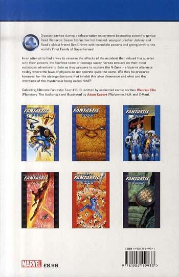 Ultimate Fantastic Four: Ultimate Fantastic Four Vol.3: N-zone N-zone Vol. 3 (Paperback)