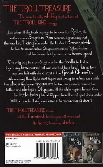 The Troll Treasure: Number 3 in series - Troll King Trilogy (Paperback)