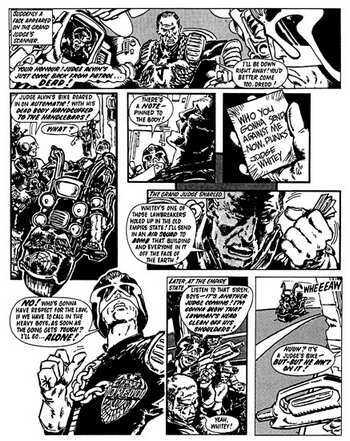 Judge Dredd: Complete Case Files v. 1 (Paperback)