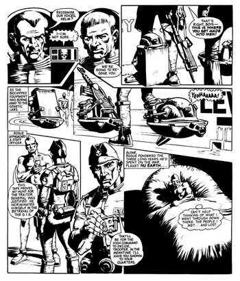 112 Best Rogue Trooper images in 2020 | Rogues, Trooper, 2000ad comic | 410x350
