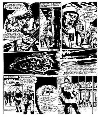 Rogue Trooper: Ruckley, Brian, Ponticelli, Alberto: 9781631400452 ... | 409x350