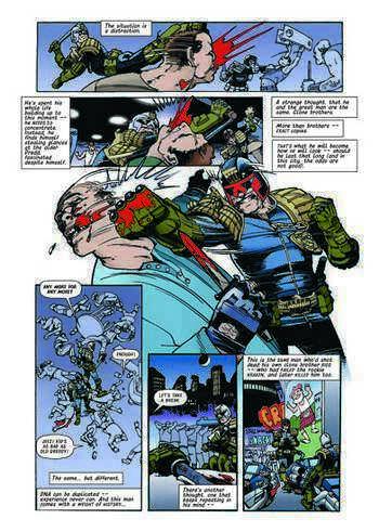 Judge Dredd: Brothers of the Blood (Paperback)