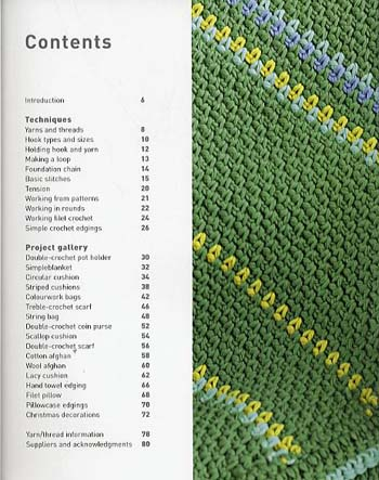 Learn to Crochet: Clear Stitch Diagrams and Instructions - 20 Simple Projects to Make (Paperback)