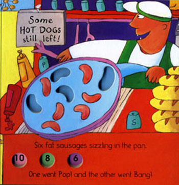 Ten Fat Sausages - Classic Books with Holes Soft Cover (Paperback)
