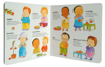 Meal Time: BSL (British Sign Language) - Sign About (Board book)