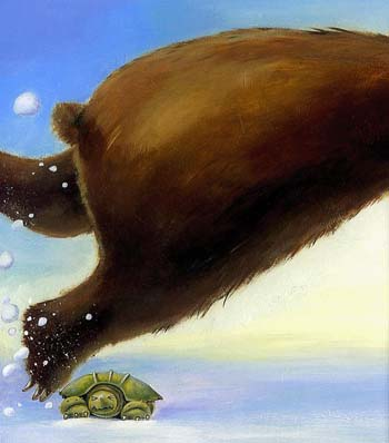 Bear and Turtle and the Great Lake Race - Traditional Tales with a Twist (Paperback)