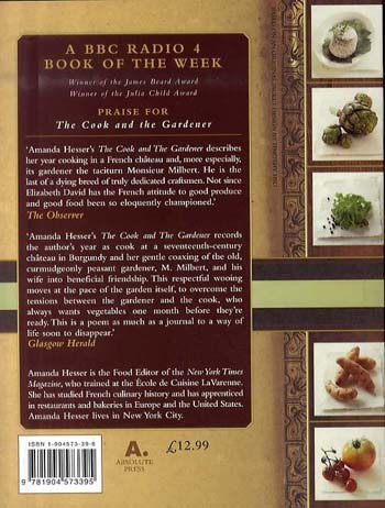 The Cook and the Gardener (Paperback)