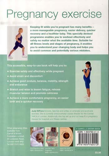 Pregnancy Exercise (Paperback)