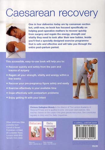 Caesarean Recovery (Paperback)
