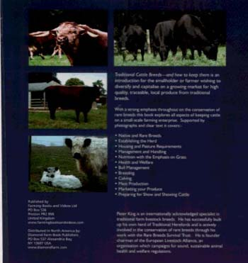 Traditional Cattle Breeds: And How to Keep Them (Hardback)