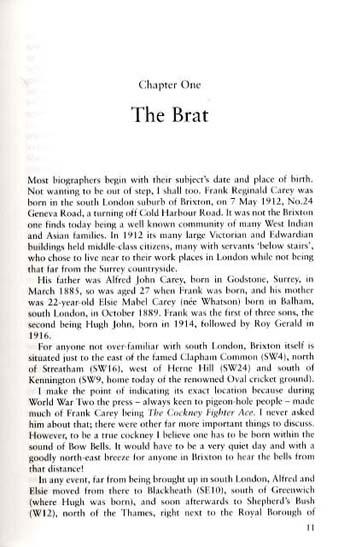 Frank 'Chota' Carey: The Epic Story of G/C Carey CBE, DFC and 2 Bars, AFC, DFM, US Silver Star (Hardback)