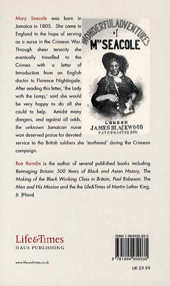 Mary Seacole - Life & Times (Paperback)