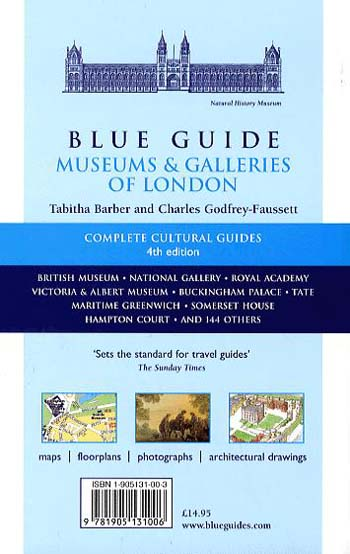 Blue Guide Museums and Galleries of London - Blue Guides (Paperback)