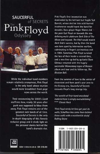 """The """"Pink Floyd"""" Odyssey: Saucerful of Secrets (Paperback)"""