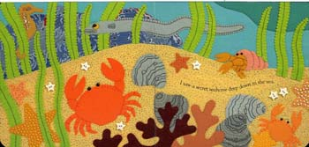 Secret Seahorse (Board book)