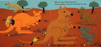 Who are You, Baby Kangaroo? (Board book)