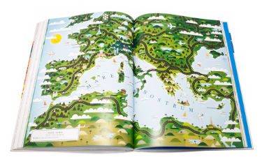 A Map of the World: The World According to Illustrators and Storytellers (Hardback)